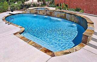 Inground swimming pools 5 key construction terms for - Fibreglass swimming pool bond beam ...