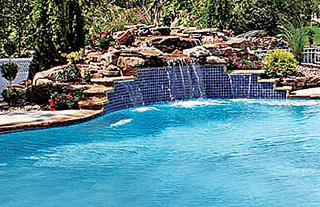 Natural Rock Waterfalls In Swimming Pools 12 Inspiring Examples In Pictures