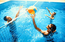 playing-volleyball-in-pool