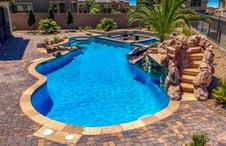 Flagstone-pavers-on-tropical-pool