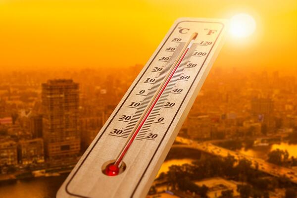 Heat delays thermometer