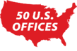 MAP 50 US OFFICES