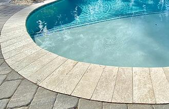 Travertine-bullnose-pool-coping