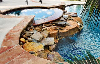 pool-spa with-natural rock-spillway.jpg