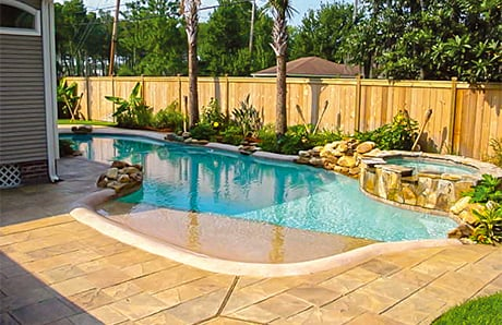 Beach Entry Swimming Pool Designs In Depth Guide To Benefits Costs Photos
