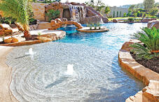 bubbler-fountains-on-beach-entry-pool