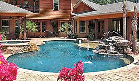 What Is A Gunite Swimming Pool