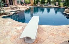 diving-board-on-gunite-pool-spa