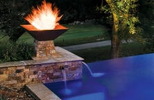 fire-bowl-on-swimming-pool