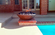 fire-pot-on-swimming-pool