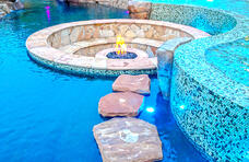 floating-stepstones-to-sunken-fire-pit-in-pool