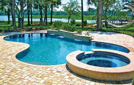 Free Form Inground Swimming Pool