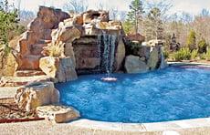 grotto-waterfall-on-swimming-pool