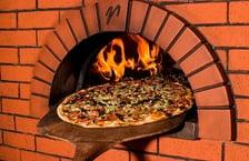 Pizza Oven Closeup