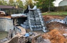 pool-slide-stairway-construction