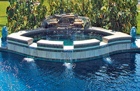 Pool Amp Spa Design Trends 10 Dam Wall Spillway Styles In