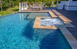 square-pool-level-spa-on-rectangle-pool