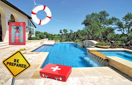 Swimming Pool Safety Backyard First Aid Kits And Rescue Equipment