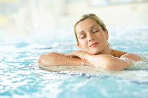 woman relaxing in a spa-1