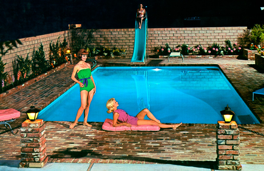 1950s-pool-illuminated-at-night