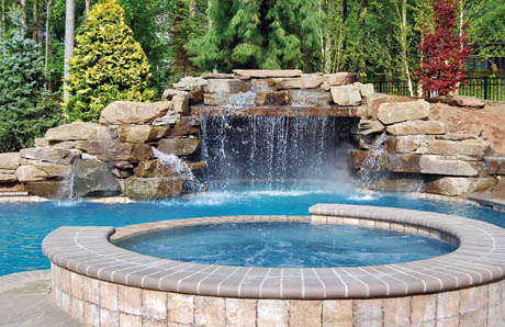ten affordable swimming pool grotto designs in pictures for your - Swimming Pools With Grottos