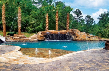 6wide_pool_grotto_with_faux_rock_mobile - Swimming Pools With Grottos