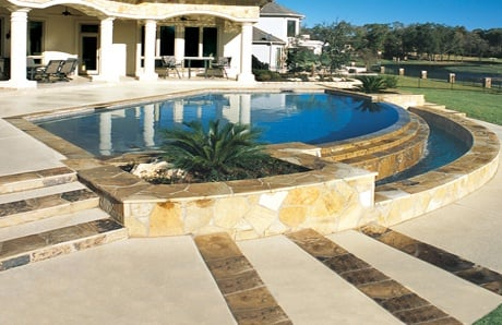 1-Pool-landscaping-custom-planter-boxes