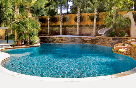 freeform Gunite Pool