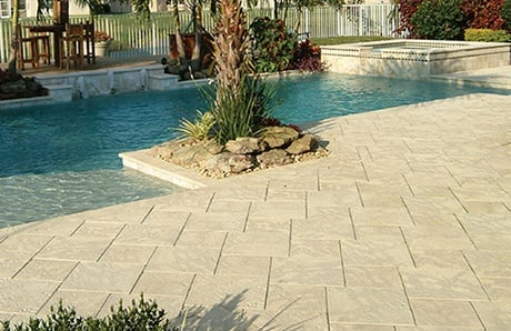 Concrete Paver Stones Benefits For Your Pool Deck