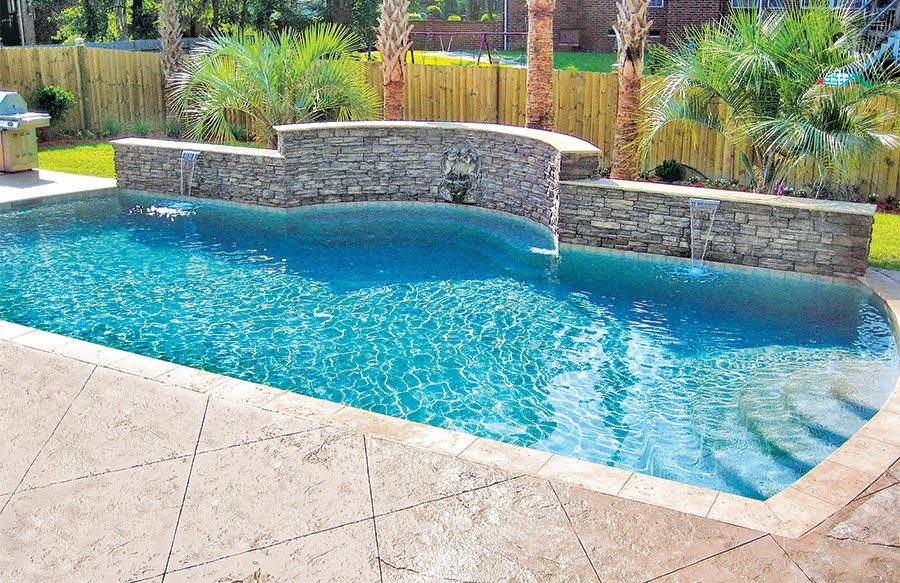 Concrete Pool Decks Popular Decorative Finishes