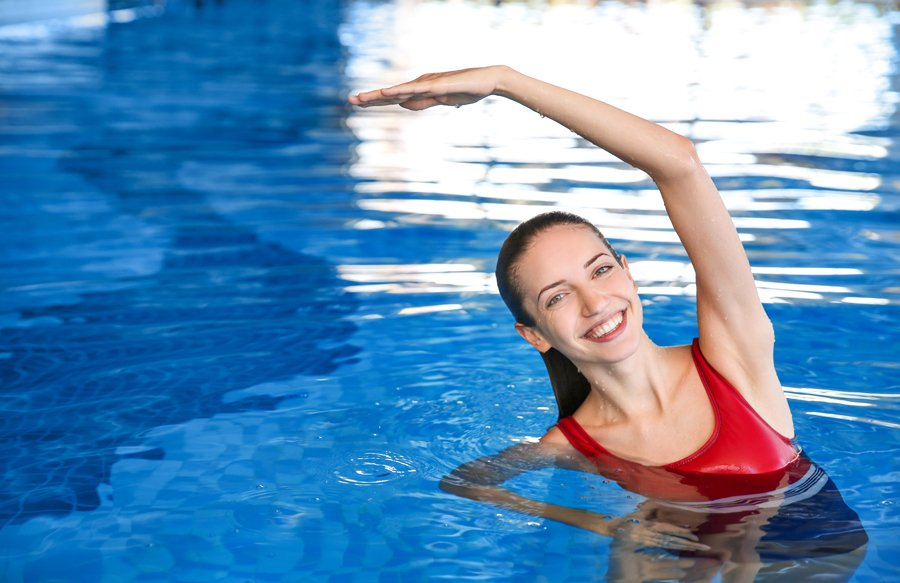 woman-exercising-in-pool